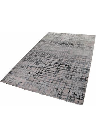 Esprit Teppich »Velvet Grid«, rechteckig, 12 mm Höhe, Wohnzimmer kaufen