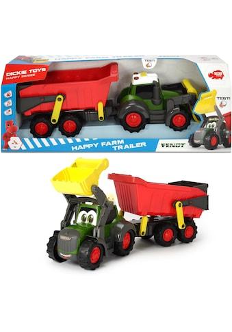 "Dickie Toys Spielzeug - Traktor ""Happy Series Farm Trailer Fendt"" kaufen"