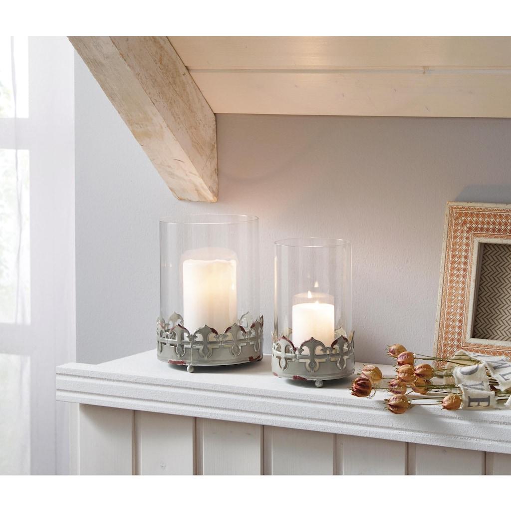 Home affaire Windlicht, im Vintage-Look