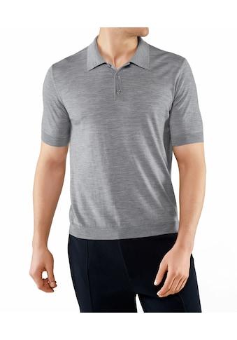 FALKE Poloshirt »Polo-Shirt«, aus extrafeiner Merinowolle kaufen