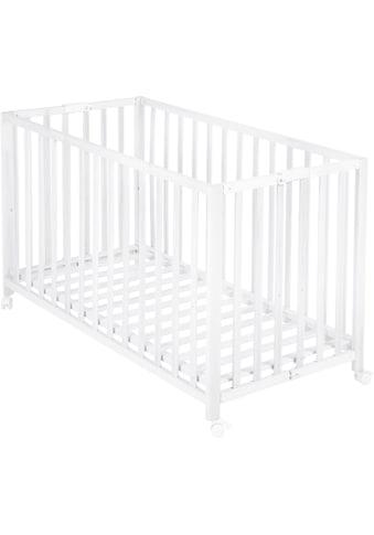 Roba® Babybett, »Fold Up, weiss« kaufen