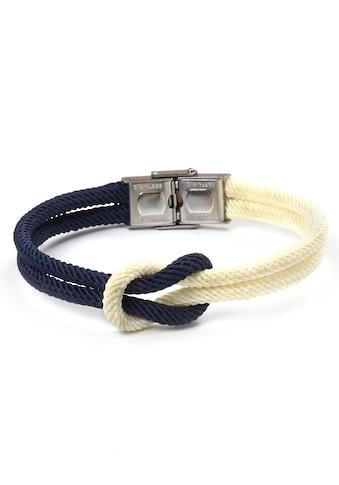 J.Jayz Armband »Seemannsknoten, maritimes Design, Biolor-Optik« kaufen