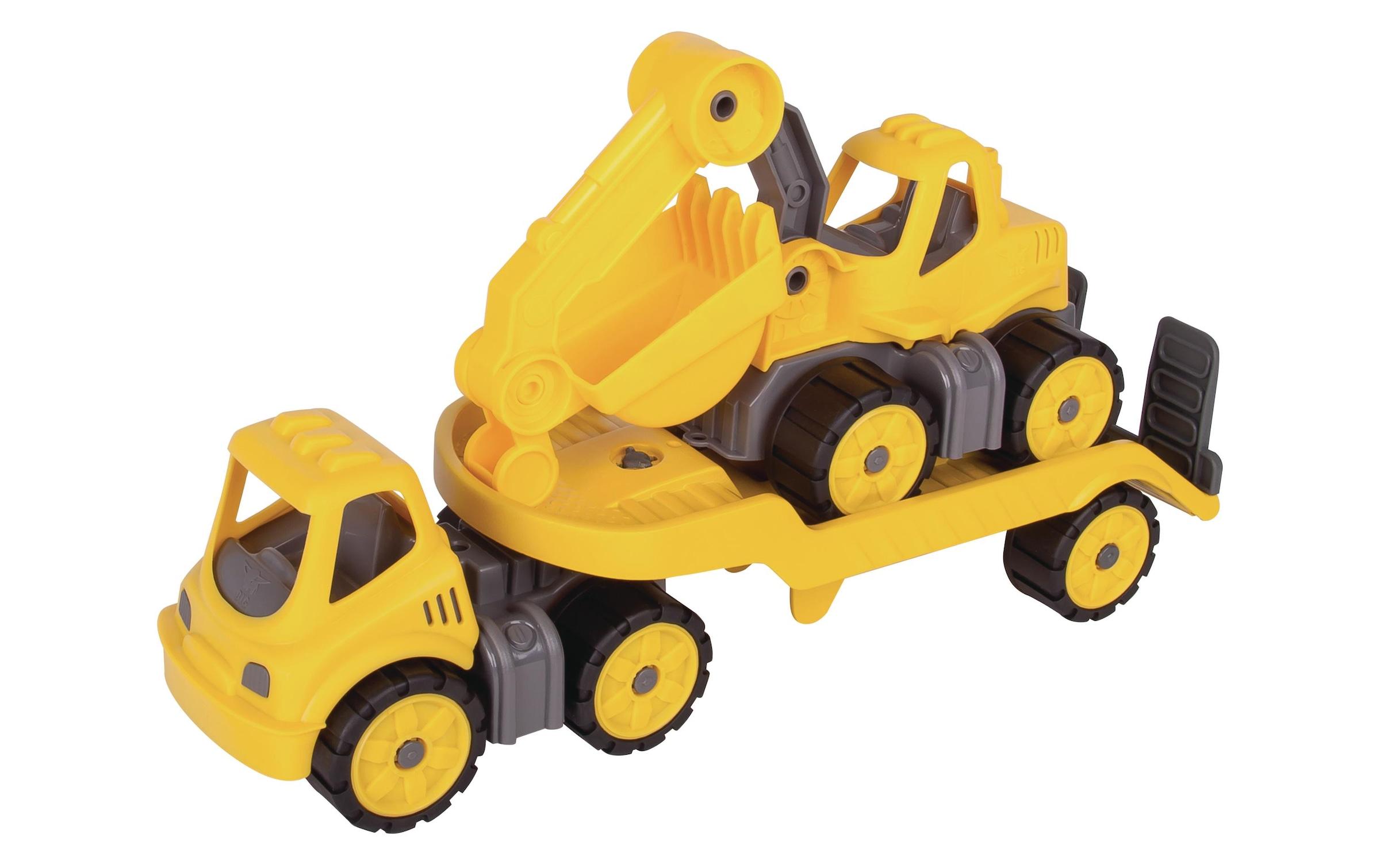Image of Baustellenfahrzeug, BIG, »mini Transporter + Bagger«