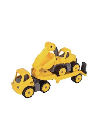 Baustellenfahrzeug, BIG, »mini Transporter + Bagger« kaufen