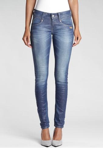 GANG Skinny-fit-Jeans »Nena«, mit gekreuzten Gürtelschlaufen links vorne kaufen