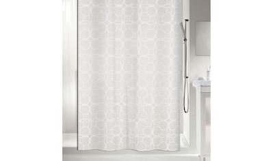 spirella Duschvorhang »spirella Duschvorhang FILIGRAN 200«, Breite 180 cm kaufen