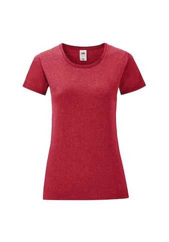 Fruit of the Loom T - Shirt »Damen Iconic, kurzärmlig« kaufen