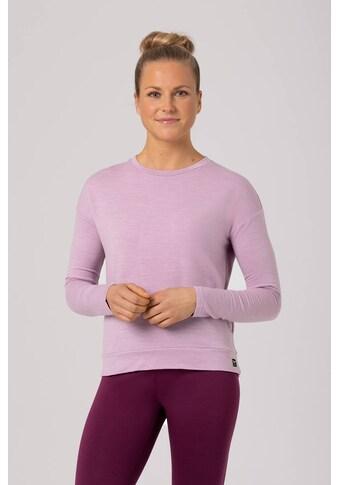 SUPER.NATURAL Sweatshirt »W JONSER SWEATER«, pflegeleichter Merino-Materialmix kaufen