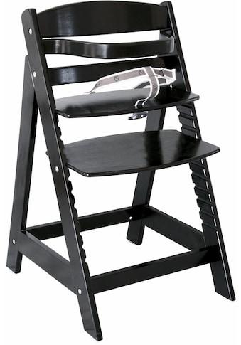 roba® Hochstuhl »Treppenhochstuhl Sit up III, schwarz«, aus Holz kaufen