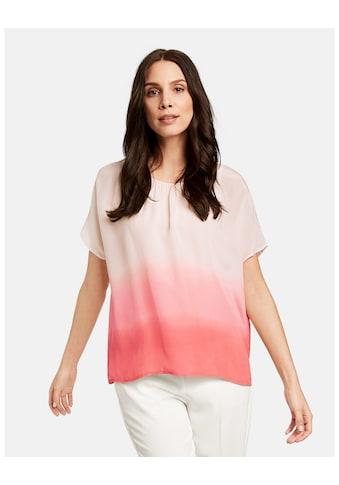 Taifun T - Shirt Kurzarm Rundhals »2 - in - 1 Blusenshirt« kaufen