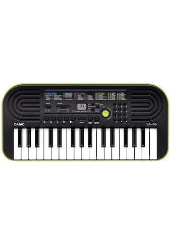 CASIO Keyboard »Mini-Keyboard SA46«, mit Umschaltknopf für Piano-/Orgelsound kaufen