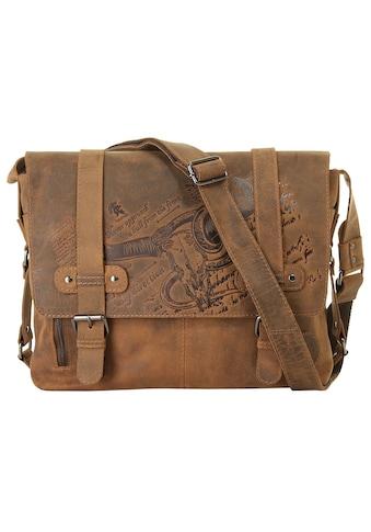 Landleder Messenger Bag kaufen