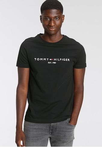 Tommy Hilfiger T-Shirt »TOMMY FLAG HILFIGER TEE« kaufen
