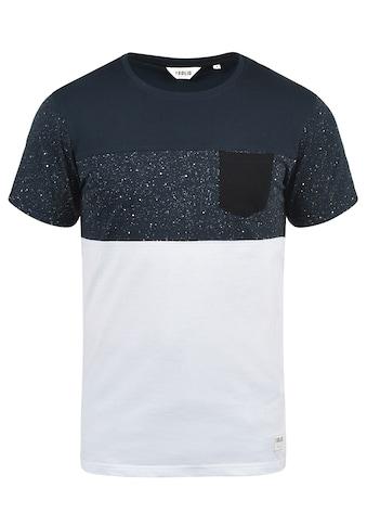Solid Rundhalsshirt »Kold«, Kurzarmshirt mit Brusttasche kaufen