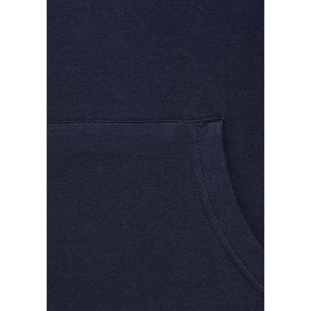 KangaROOS Longsweatshirt, mit doppeltem Kragen