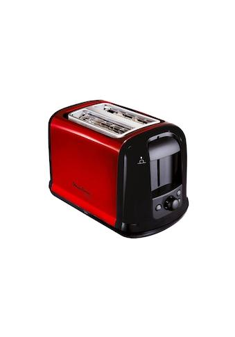 Moulinex Toaster »Subito Rot«, für 2 Scheiben, 850 W kaufen