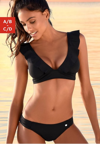 JETTE Triangel-Bikini, mit Volant kaufen