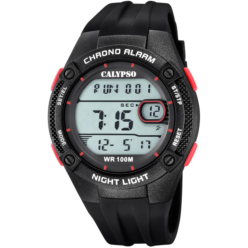 CALYPSO WATCHES Chronograph »Digital For Man, K5765/3«