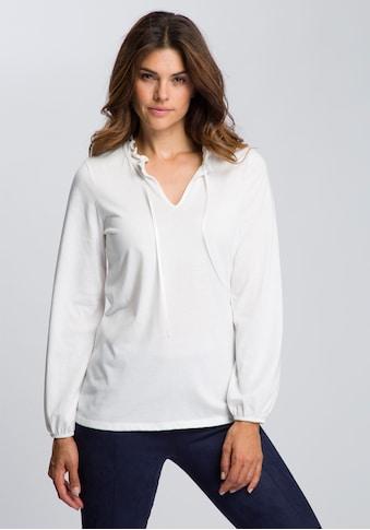 Boysen's Langarmshirt, mit Rüschen-Detail kaufen