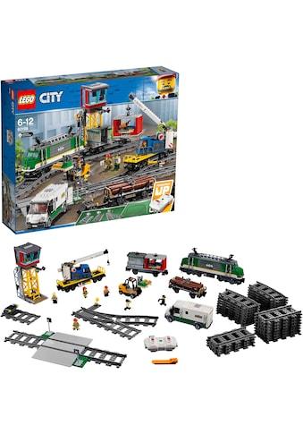 LEGO® Konstruktionsspielsteine »Güterzug (60198), LEGO® City«, (1226 St.) kaufen