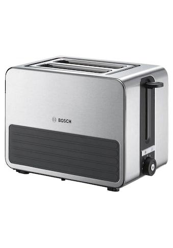 BOSCH Toaster »TAT7S25 grau - Schwarz«, 1050 W kaufen