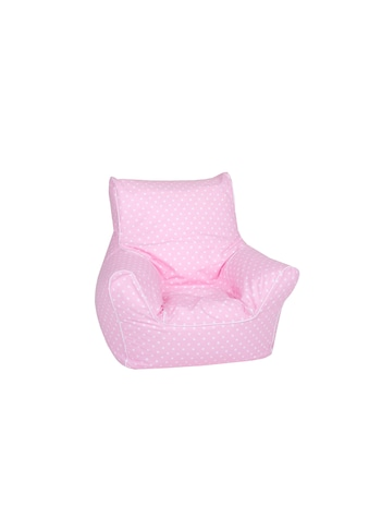 Knorrtoys® Sitzsack »Kindersitzsack - Pink mit weissen Punkten« kaufen