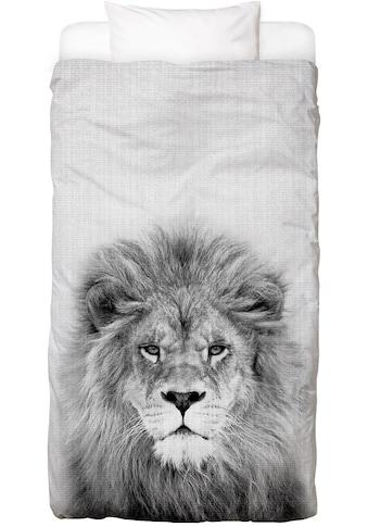 Juniqe Bettwäsche »Lion«, In vielen weiteren Designs erhältlich kaufen