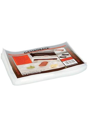 Gastroback Vakuumierer »30 x 20 cm 50 Stück« kaufen