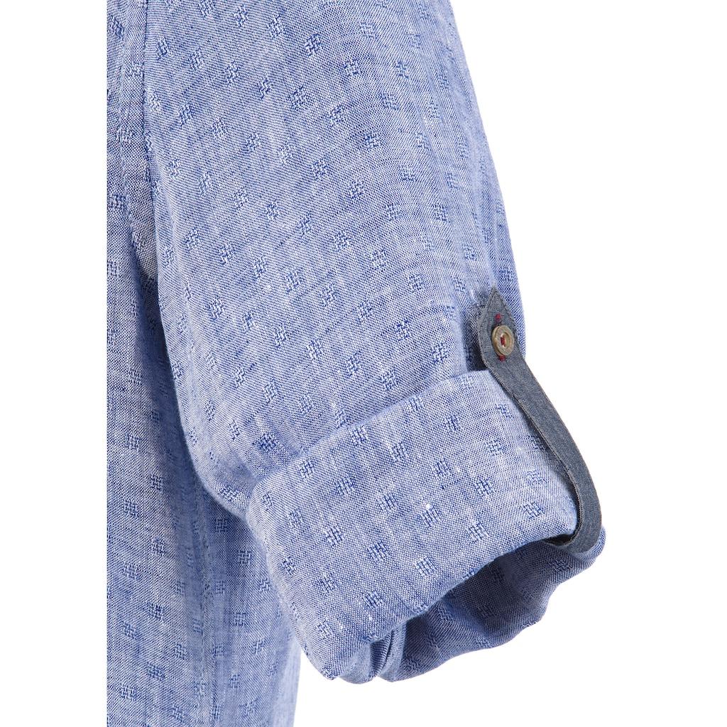 KRÜGER BUAM Trachtenhemd »Peer«, mit Stickerei