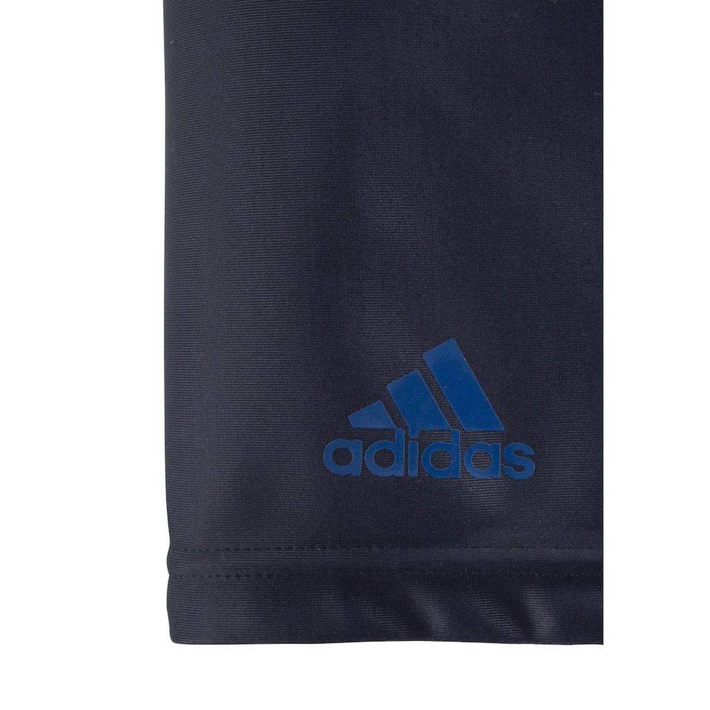 adidas Performance Boxer-Badehose, mit grossem Logoschriftzug