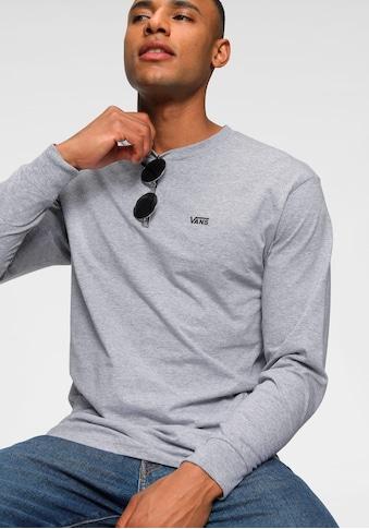 Vans Langarmshirt »LEFT CHEST HIT LS« kaufen