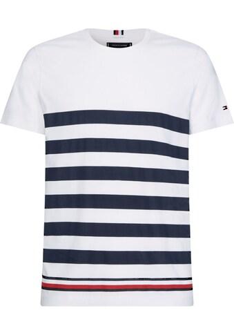 TOMMY HILFIGER T - Shirt »BOLD STRIPE TEE« kaufen