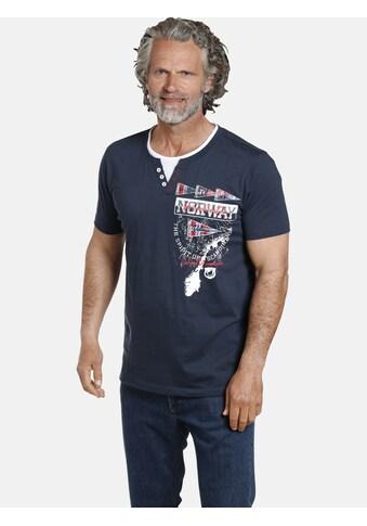 Jan Vanderstorm T-Shirt »PEDER«, besonders weiches Material kaufen