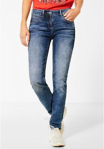 Cecil Slim-fit-Jeans, 4-Pocket Style kaufen
