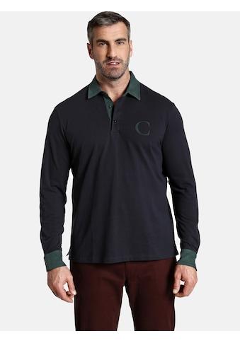 Charles Colby Langarm-Poloshirt »DUKE BLAKE«, Highlights aus Feincord kaufen