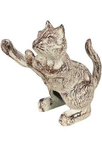 Ambiente Haus Tierfigur »Tuerstopper aus Gusseisen - Katze« kaufen