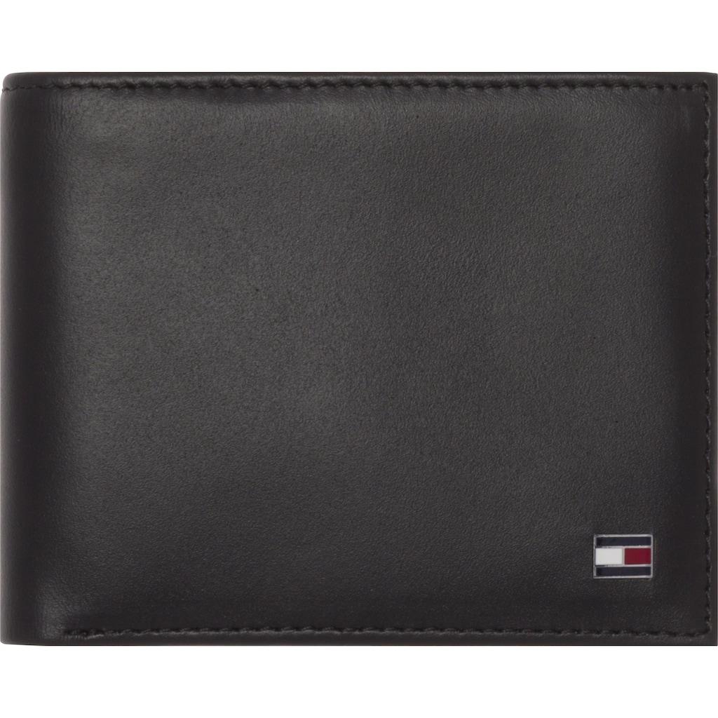TOMMY HILFIGER Geldbörse »ETON MINI CC WALLET«, aus hochwertigem Leder