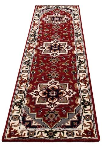 DELAVITA Läufer »Aman«, rechteckig, 14 mm Höhe, reine Schurrwolle kaufen