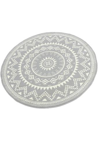 Teppich, »Valencia«, HANSE Home, rund, Höhe 9 mm, maschinell gewebt kaufen