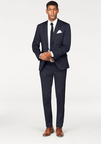modèles à la mode dernière mode meilleure vente Costume Bruno Banani (lot 4 pièces, avec cravate et pochette ...