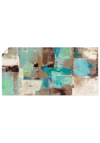 Artland Wandbild »Blaugrüne Wasser Reflektionen«, Muster, (1 St.), in vielen Grössen &... kaufen