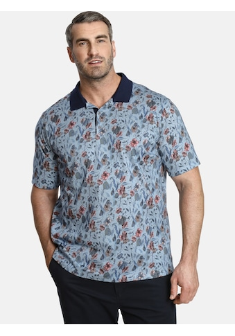 Charles Colby Poloshirt »EARL LUCA«, mit floralem Allover Druck kaufen