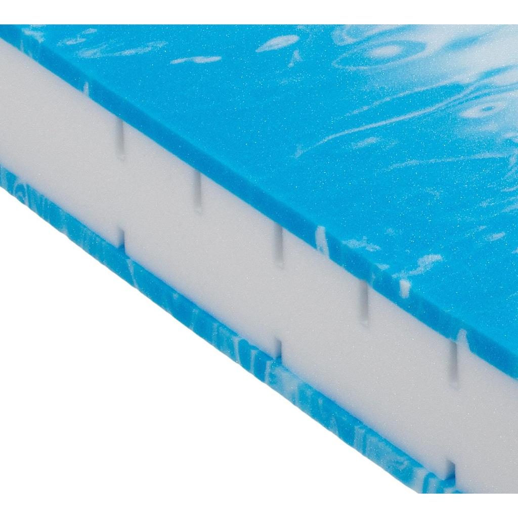 BeCo EXCLUSIV Gelschaummatratze »Duo Gel Comfort«, (1 St.), Note: SEHR GUT, Haus&Garten-Test 1/2019, flexible Matratze