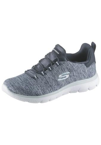 Skechers Slip-On Sneaker »Summits-Quick Getaway«, mit Gummiband kaufen