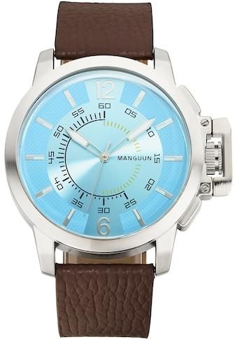 MANGUUN Quarzuhr »MUGA-32534-20L« kaufen