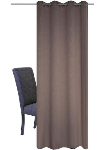 HOME WOHNIDEEN Vorhang »UNIVERSUM«, HxB: 245x140, Verdunklungsschal mit Glitzerdruck kaufen