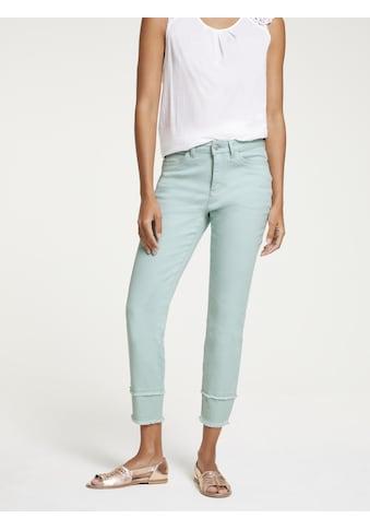 LINEA TESINI by Heine Skinny-fit-Jeans, mit Fransen kaufen