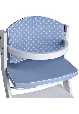 tiSsi® Kinder-Sitzauflage »Kronen blau«, für tiSsi® Hochstuhl; Made in Europe kaufen