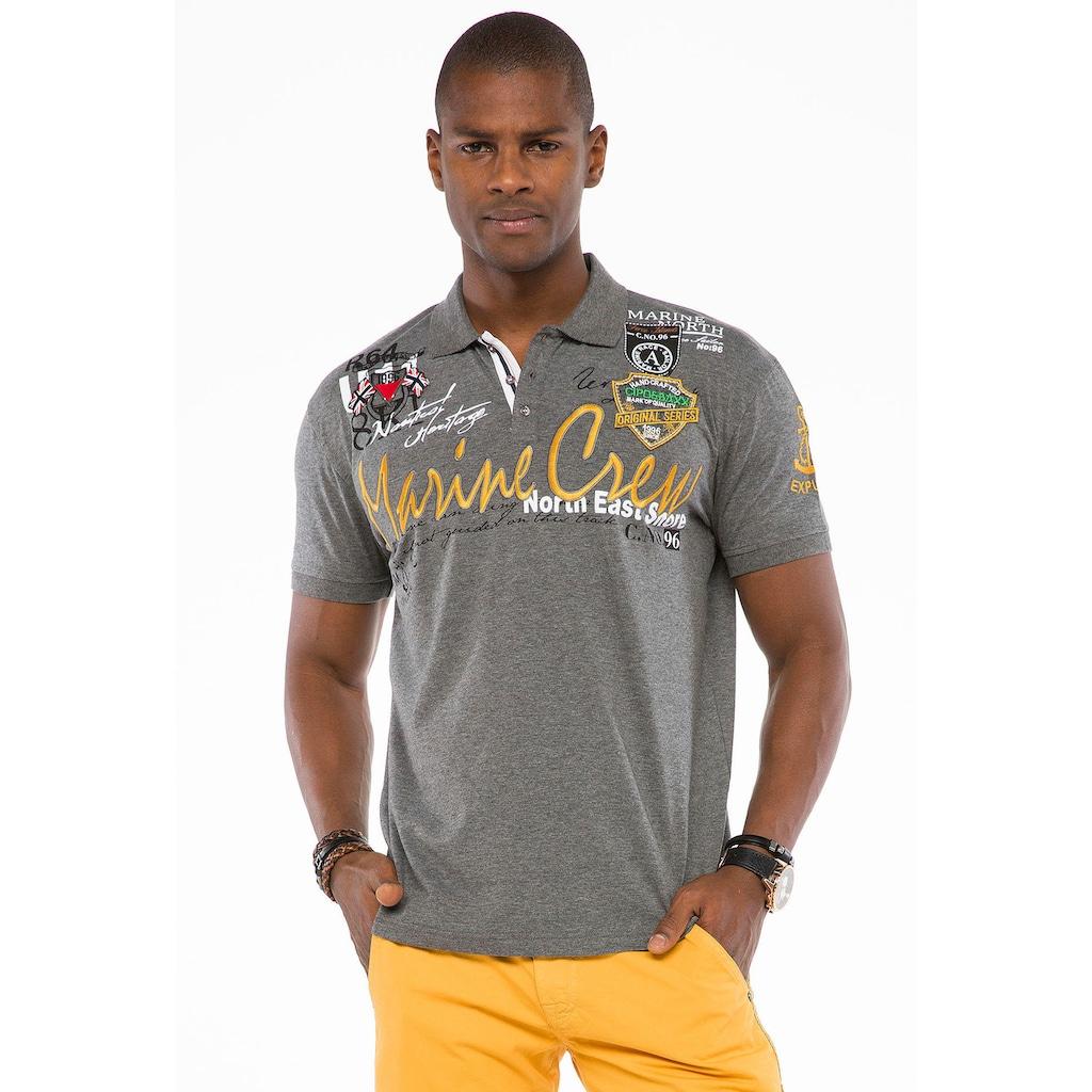 Cipo & Baxx Poloshirt »Crew Polo«