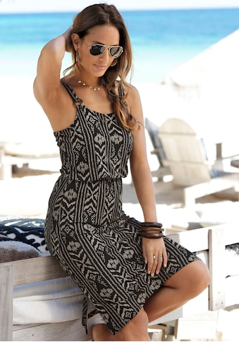 LASCANA Jerseykleid, mit Ringdetail am Träger kaufen